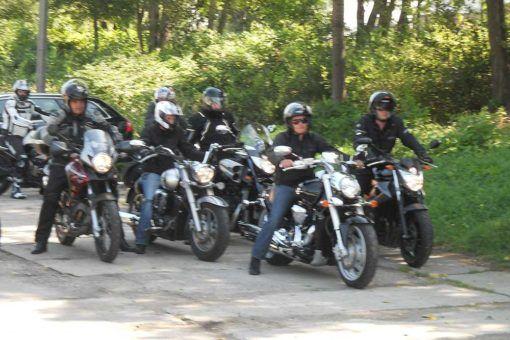 YAMAHA MOTORCYCLE RALLY